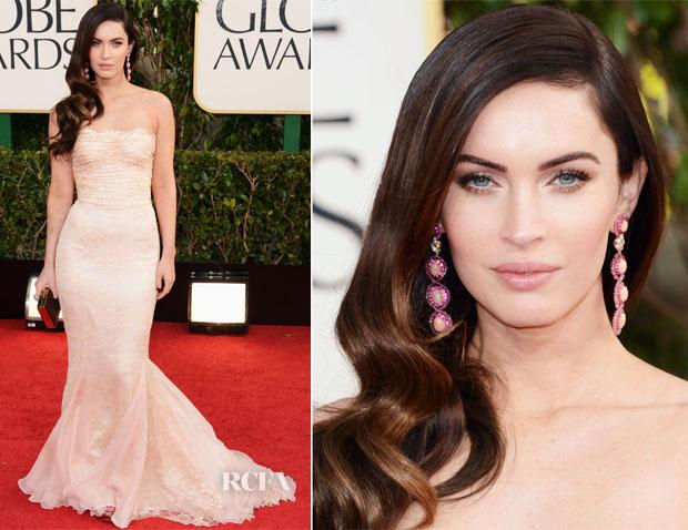 Megan-Fox-In-Dolce-Gabbana-2013-Golden-Globe-Awards